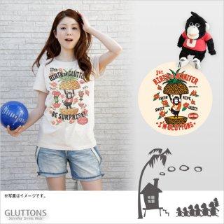 【Gluttons】パイナップルンルンルン♪Tシャツ