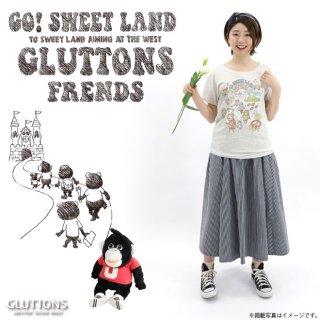 【Gluttons】ジェニファーと仲間達、みんなで楽しいピクニックTシャツ♪