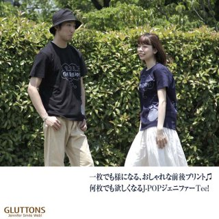 【Gluttons】ジェニファーのJーPOP♪ メンズTシャツ