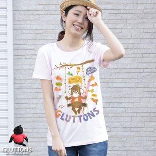 【Gluttons】鳥さんになりたいジェニファー!LET'S GO FLYING♪♪Tシャツ