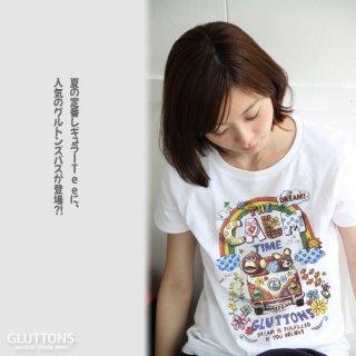 【Gluttons】大きな虹が!グルトンズワゴンでレッツゴー☆Tシャツ