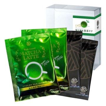 贅沢濃厚 抹茶ラテ 飲み比べパック|4P