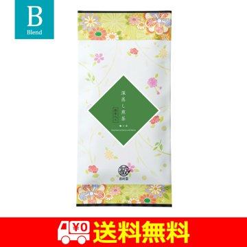 【送料無料】抹茶入り深蒸し煎茶|80g平袋