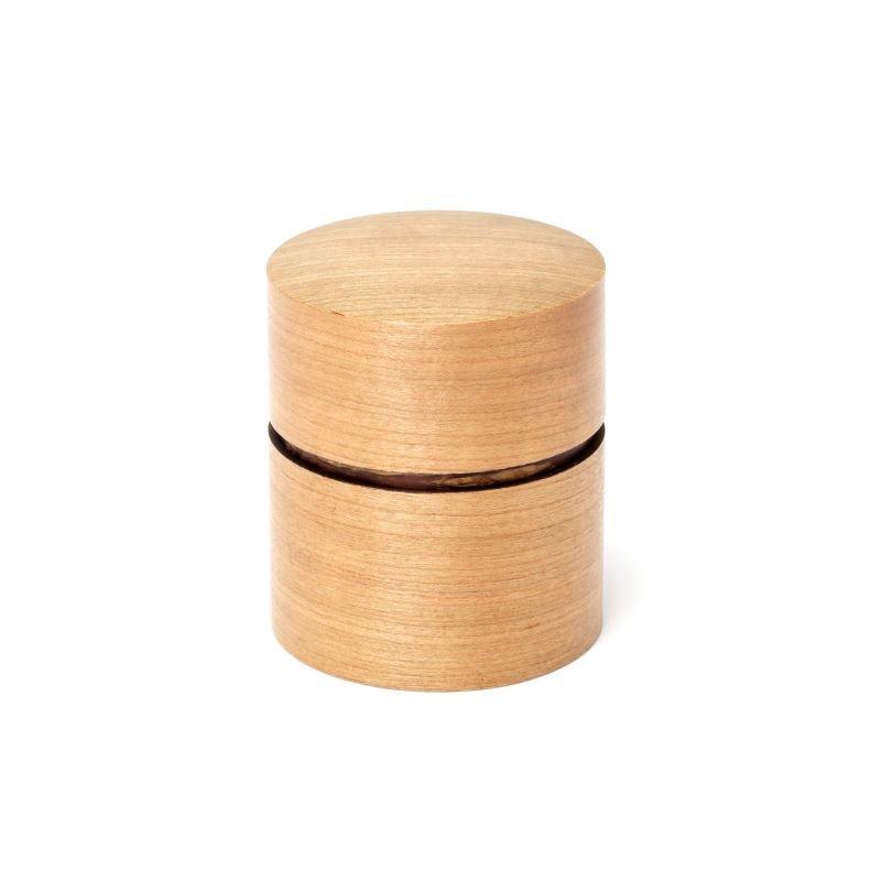 帯筒 茶筒(平)さくら