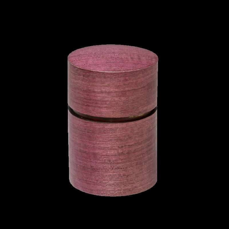 帯筒 茶筒(大)パープルハート