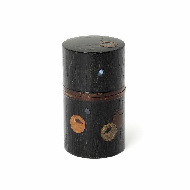 つぼつぼ 茶筒帯付 黒