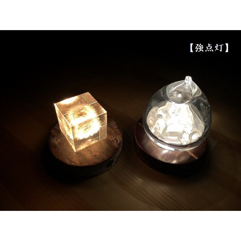 Light Base maru 無地皮+霜降皮(2200K/ロウソク)