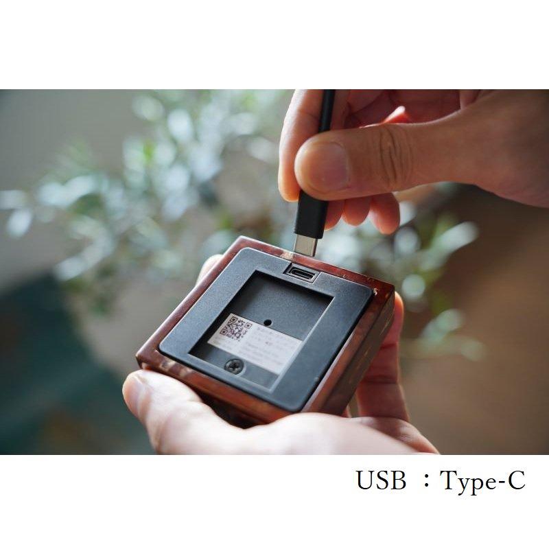 Light Base kaku 霜降皮(3000K/ゴールド)