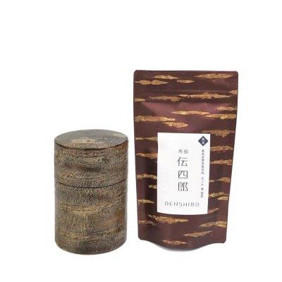 オリジナル茶・茶筒セット【茶筒(大)霜降皮】