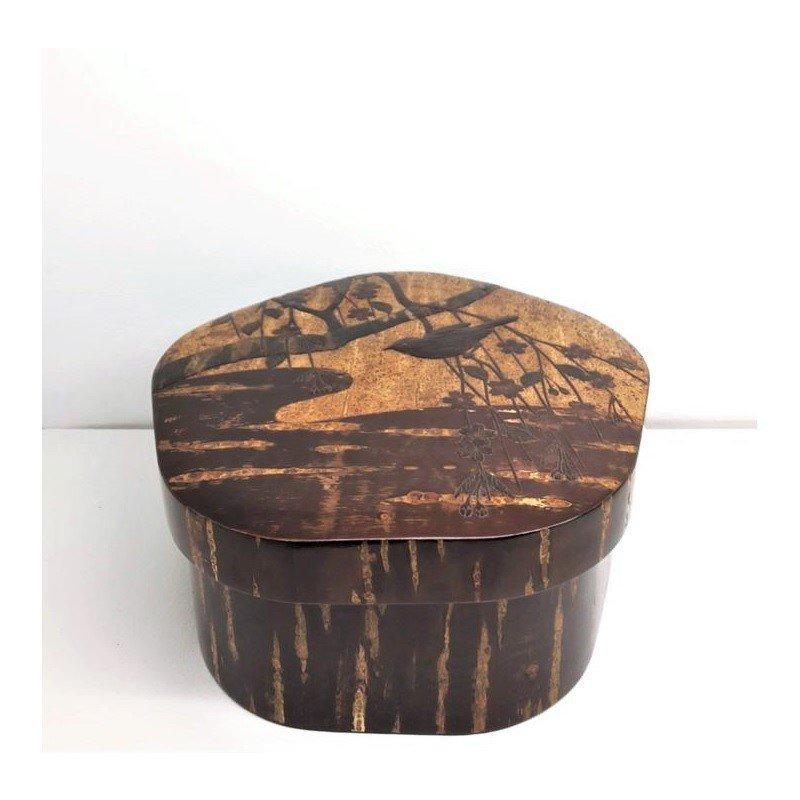 【お買得品】梅型茶櫃(小)枝垂れ:A※38,500円の品