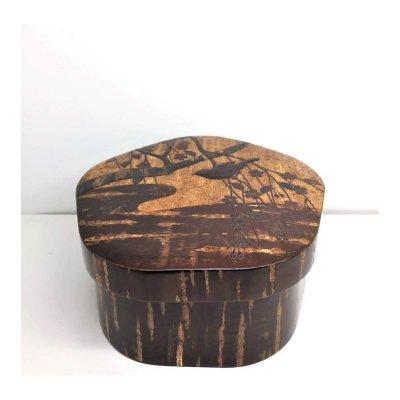 【お買得品】梅型茶櫃(小)枝垂れ:A※35,000円(税抜)の品