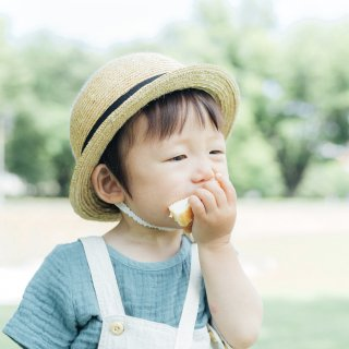 CLASKAの麦わら帽子(お子様用)