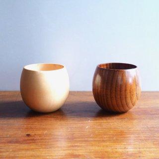 木製湯呑み