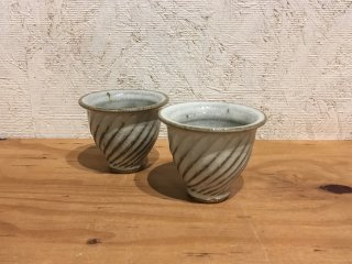 福田るい 斜めしのぎカップ