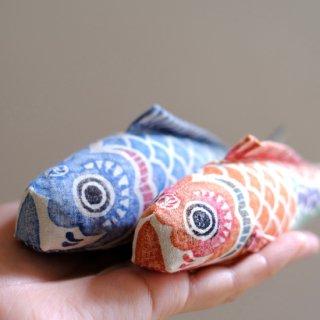 木版手染ぬいぐるみ 鯉のぼりセット