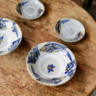 やちむん 陶芸城 魚紋皿