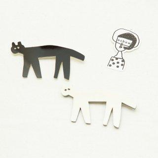 ★数量限定★oshowさんの猫ブローチ