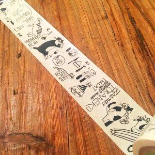 トラネコボンボンのクラフトテープ