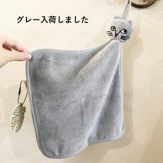 松尾ミユキ キャットフェイスハンドタオル