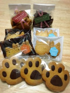 ねこクッキーセット(小)