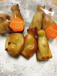 ねこフィナンシェ(オレンジ)