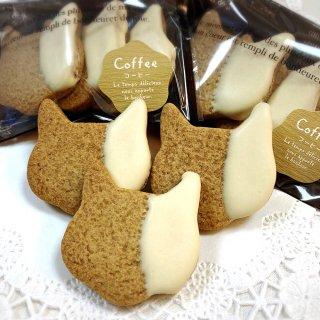 ねこクッキー(コーヒー)