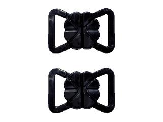 ホック #3 ブラック Mサイズ(1パック2組入)