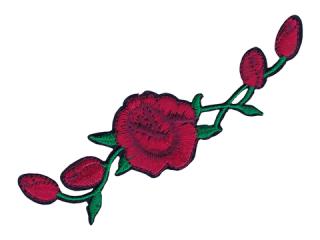 刺繍・レース シングル モチーフ(B1131)