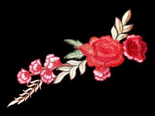 刺繍・レース シングル モチーフ(B1138)