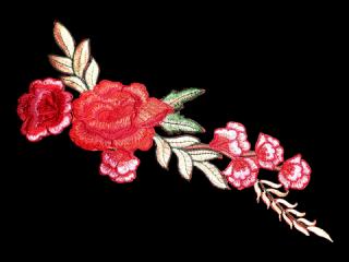 刺繍・レース シングル モチーフ(B1139)
