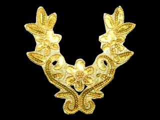 スパンコールモチーフ Gold MT(1519)