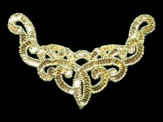 スパンコールモチーフ Gold MT(1032)