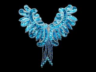 スパンコールモチーフ Turquoise MT(1056)
