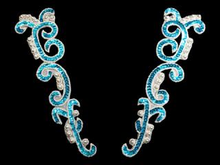 スパンコールモチーフ Turquoise MT(2136)