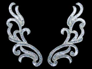 スパンコールモチーフ Silver HG(2031)