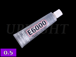 E6000 超強力ボンド(接着剤)◆0.5oz(14.7mL)