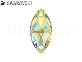 スワロフスキー ラインストーン 3223 ナベット オーロラ(AB)12×6