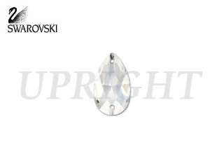 スワロフスキー ラインストーン 3230 ドロップ クリスタル(CR)12×7