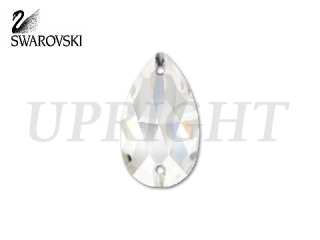 スワロフスキー ラインストーン 3230 ドロップ クリスタル(CR)18×10.5