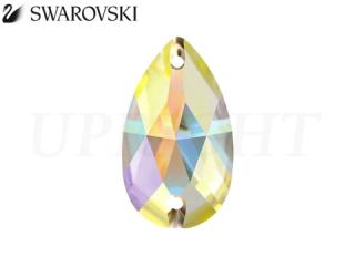 スワロフスキー ラインストーン 3230 ドロップ オーロラ(AB)12×7