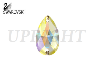 スワロフスキー ラインストーン 3230 ドロップ オーロラ(AB)18×10.5