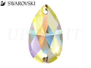 スワロフスキー ラインストーン 3230 ドロップ オーロラ(AB)28×17