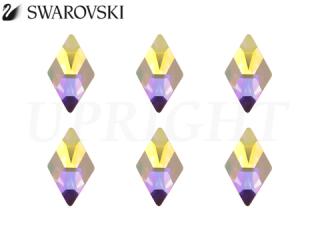 スワロフスキー ラインストーン 2709 ロンバス オーロラ(AB)10×6