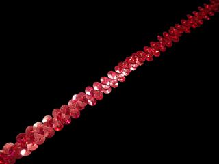 ストレッチ スパンコールブレード 1Row Red HG(105)