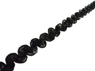 ストレッチ スパンコールブレード 1Row NewWave Black(NW008)
