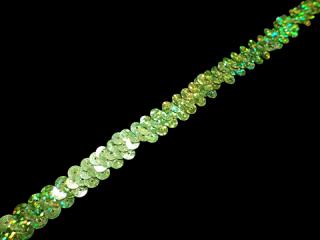 ストレッチ スパンコールブレード 1Row Lime HG(110)