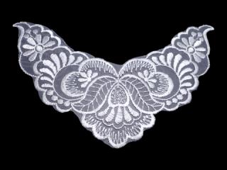 刺繍・レース シングル モチーフ(D3801)