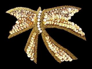 スパンコールモチーフ Gold MT(1102)