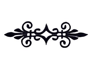 刺繍・レース シングル モチーフ(A506)
