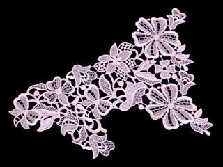 刺繍・レース シングル モチーフ(C2504)
